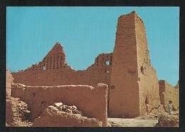 Saudi Arabia Picture Postcard Ruins Of Diraiyah The Ancient Saudi Capital View Card - Arabia Saudita