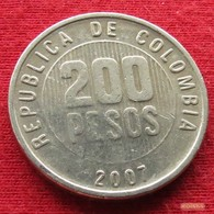 Colombia 200 Pesos 2007 KM# 287 Colombie - Colombie