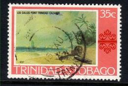Trinidad & Tobago 1976 QE2 35ct Los Gallos Point Painting SG 488 ( G1278 ) - Trinidad & Tobago (1962-...)