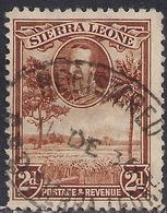 Sierra Leone 1932 KGV 2d Brown Rice Field SG 158 ( G1473 ) - Sierra Leone (...-1960)