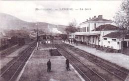 43 - Langeac ( Haute Loire )  -  La Gare - Langeac