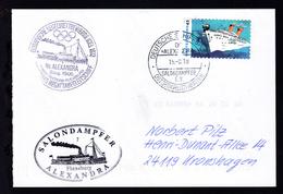 DEUTSCHE SCHIFFSPOST DS >>ALEXANDRA<< SALONDAMPFER E.V. OSTSEEKREUZFAHRTEN  - Allemagne