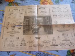 Christofle Depliant Publicitaire 1894-couverts Et Orfevrerie - Publicité
