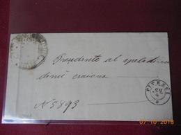 Lettre De Pitesci (Italie) A Destination De Craiova (Roumanie) De 1864 - Autres