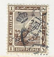 EGYPT  78  (o)   1922  Issue - Egypt