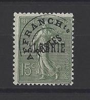 ALGERIE . YT  Préoblitérés  3 Neuf *  1924 - Ungebraucht
