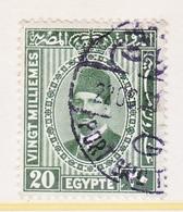 EGYPT  142   (o)   1927-37  Issue - Egypt