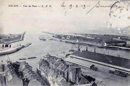 CPA62  Calais 1911    Vue Du Port - Calais