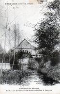 CPA - 35 - SERVAN - Le Moulin De La Bourdonnière à Servan - Environs De Rennes - France