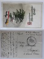 AK Weihnachten Kaiserl. Marine Schiffspost No. 87 Gebraucht #PC126 - Postcards