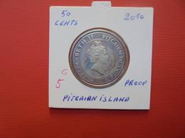"PITCAIRN ISLAND 50 Cents 2010 ""PROOF"" - Pitcairn"