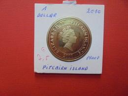 "PITCAIRN ISLAND 1$  2010 ""PROOF"" - Pitcairn"