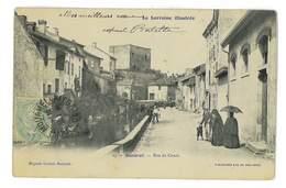 CPA 54 BACCARAT RUE DU CANAL - Baccarat