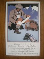 (alpinisme) Carl KUNST: Publicité Pour Une Pharmacie De Münich, 1910. - Illustrateurs & Photographes