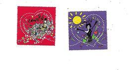 Saint Valentin Coeur 2010 De La Maison De Couture Lanvin 4431-4432 Oblitérés - France