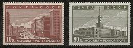 Russie 1939 N° Y&T :   698 Et 703 * - Neufs