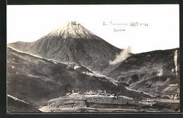 AK Ecuador, Blick Auf Den Tungurahua - Ecuador