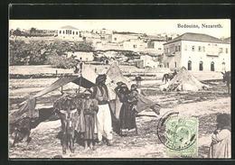 AK Nazareth, Bedouins, Beduinen Vor Der Stadt - Palästina