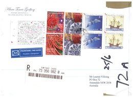 (555) Croatia To Australia Cover - Europa 2005 In Pairs - 2005