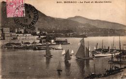 MONACO - LE PORT ET MONTE CARLO - Monaco