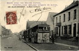 59 Blanc Misseron La Halte à La Douane Train En Très Gros Plan Belle Animation - France