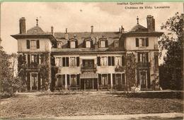 Lausanne : Institut Quinche -Château De Vidy - VD Vaud