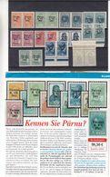 Estonie - Michel 1/10 ** - MNH - Avec Surcharge Pernau - En Paire - Valeur 360 Euros - Estonia