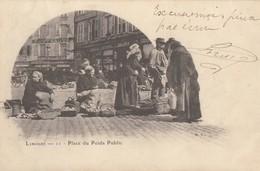 CPA - Limoges - Place Du Poids Public - Limoges
