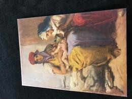 Jeune Femme Maure Allaitant Son Enfant Bébé Sein Nu1850 Theodore Chasserieu - Paintings
