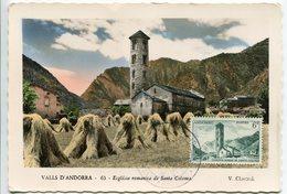 Andorre - Roman Church St. Coloma - Maximum Card - Andorre