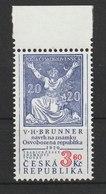 MiNr. 133  Tschechische Republik: 1997, 20. Jan. Tradition Tschechischer Briefmarkengestaltung. - Tschechische Republik