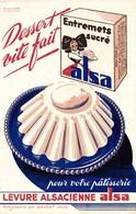 BUVARD LEVURE ALSA DESSERT VITE FAIT - Cake & Candy