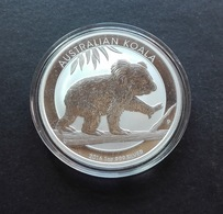 Australia, Koala 1 Oz 2016 Silver 9999 Pure - 1 Oncia Argento Puro Bullion Perth Min - Australia