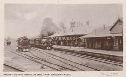South Africa  ESTCOURT Railway Station  Arrival Of Mail Train RP    Sa 599 - South Africa