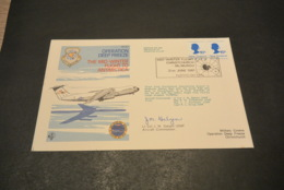 FC388 - FDC New Zealand - 1981 - Operation Deep Freeze - The Mud-winter Flight To Antarctica - Polar Flights