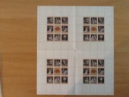 Mi. 1294/1301 MNH Kleinbogen (4x) - 1945-.... 2ème République