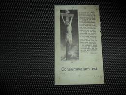 Doodsprentje ( E 107 )  Rebry / Depuydt  -  Iseghem  Izegem Moorseele  Moorsele 1937 - Obituary Notices