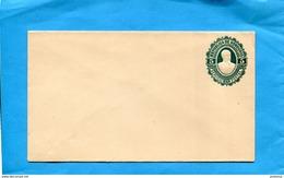 "HONDURAS-lettre  Entier Postal- Postal Stationnery-""   1891-neuve-5-c  Bleu Gaufré-Président Bogran- - Honduras"