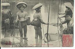 Tonkin- Hanoï-Pêcheurs - Viêt-Nam