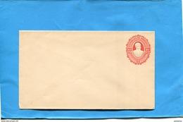 """HONDURAS-lettre  Entier Postal-stationnery-""""   1891-neuve10-c Rouge Gaufré-Président Bogran- - Honduras"""
