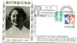 Libération - Flamme Petite Rosselle Du 13 Mars 1995 - 50e Anniversaire  - X 478 - WW2