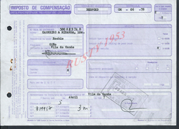 PORTUGAL DOCUMENT IMPOT SU CAMION BEDFORD 1978 : - Portugal