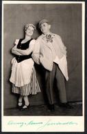 B8164 - TOP Theater Wien - Conny Und Hans Schindler - Autogrammkarte - Hugo Mack Wien - Autographes
