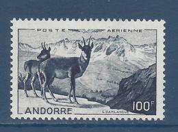 Andorre Français - Poste Aérienne YT N° 1 - Neuf Avec Charnière - 1950 - Poste Aérienne