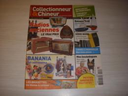 COLLECTIONNEUR CHINEUR 035 04.04.2008 BANANIA BROUETTES BOULEDOGUE BATEAUX TIROT - Collectors