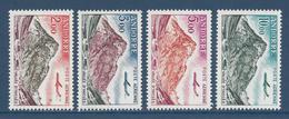 Andorre Français - Poste Aérienne YT N° 5 à 8 - Neuf Sans Charnière - 1961 à 1964 - Poste Aérienne