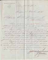 Saïgon, Singapore, Kaltenbach, Engler  & Co, 1878 -> Bordeaux - Otros