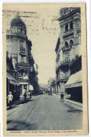 1 Postcard Argentina Rosario - Calle Santa Fè Esq. Entre Rios, Casa España - Argentine