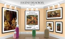 ¤¤ ALGERIA IN STAMPS ¤¤ TOGO 2015 DELACROIX EUGENE PAINTINGS SHEETLET SHEET BLOC BLOCK  MNH - Timbres