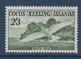 COCOS - YVERT N° 6 ** MNH - COTE = 30 EUR. - FAUNE ET FLORE - OISEAUX - Cocos (Keeling) Islands